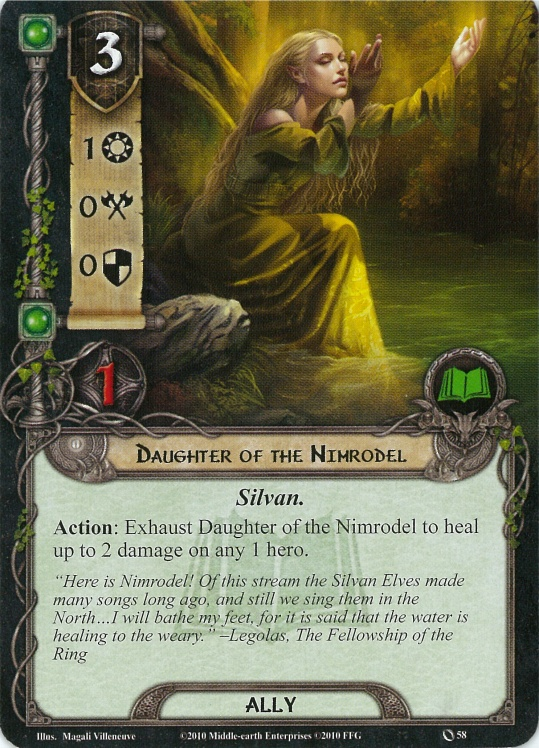 Daughter of the Nimrodel Card