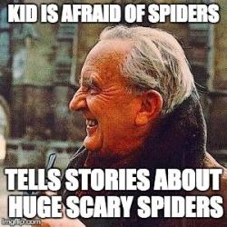 tolkien-spider-meme