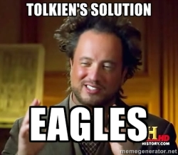 Tolkien Eagles Meme