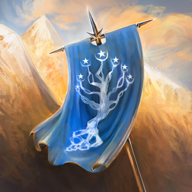 Battle Standard of Gondor Margaret Hardy