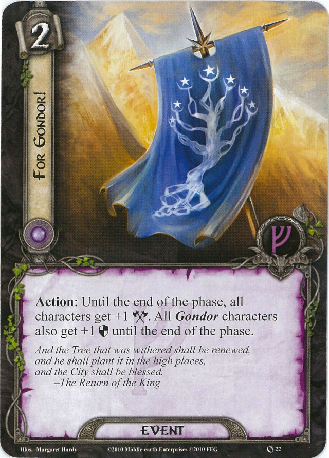 For Gondor Card