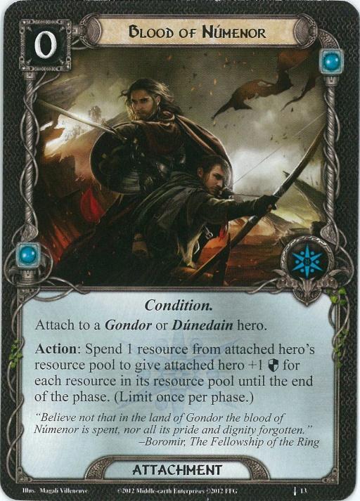 Blood of Numenor Card