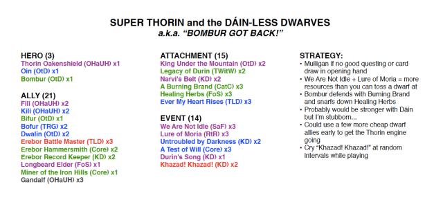 Super Thorin Deck Shot