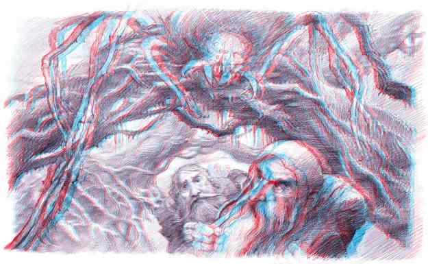 Hobbit 3D Concept Art - Lee and Howe
