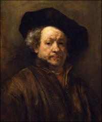 Rembrandt Self Portrait (1660)