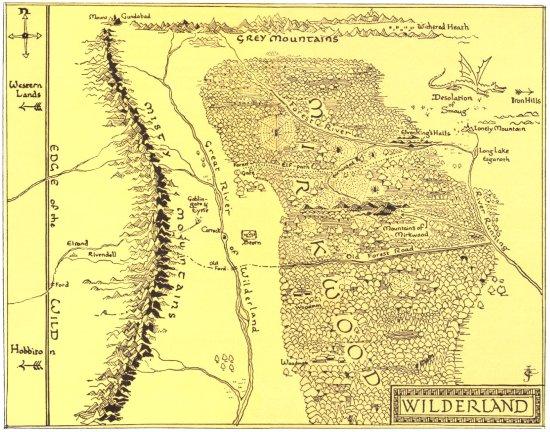 Wilderland - JRR Tolkien