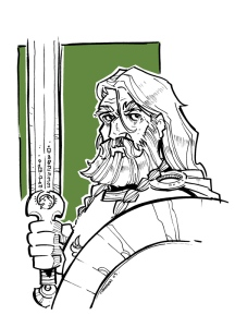 Théoden by Travis J Hanson