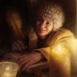 """Bilbo Baggins"" by Tony Foti"