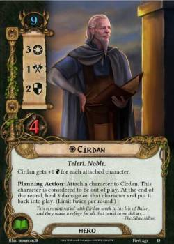 Círdan from the First Age Expansion by Ian Martin