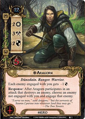 Tactics Aragorn LOTR LCG