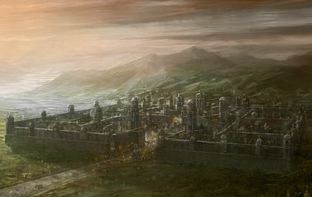 """Fornost"" from The Battle for Middle Earth II"