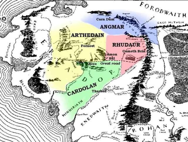 Map of the North circa 1400