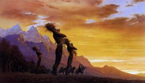 The Tree Shepherds by Ted Nasmith