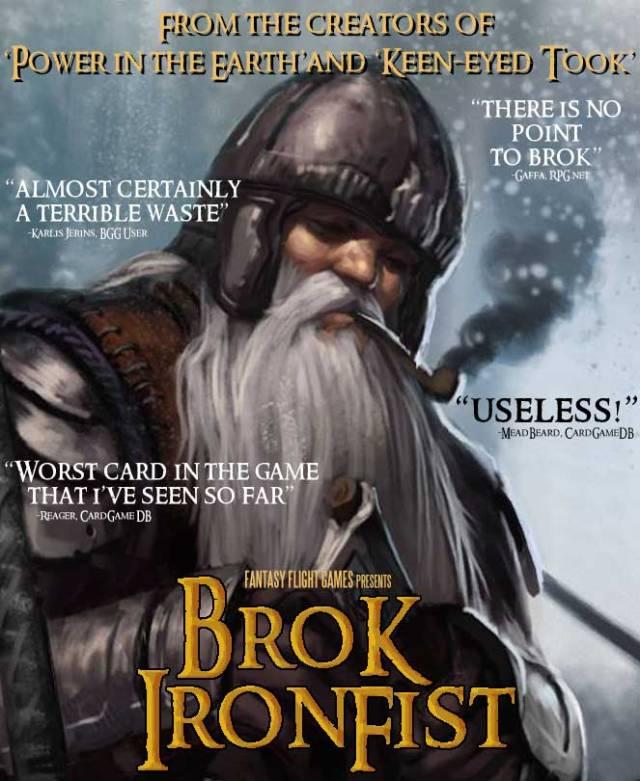 Brok Ironfist Poster