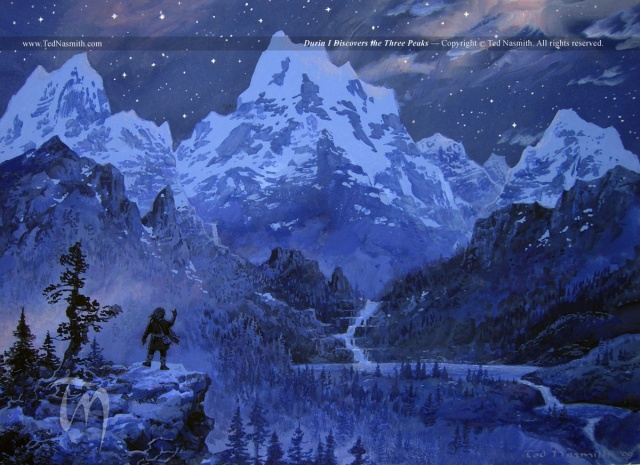 Durin by Ted Nasmith