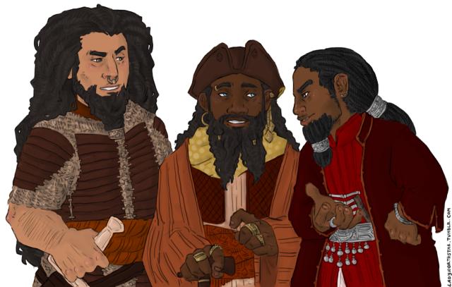 """Ironfists and Blacklocks"" by LadyNorthStar"