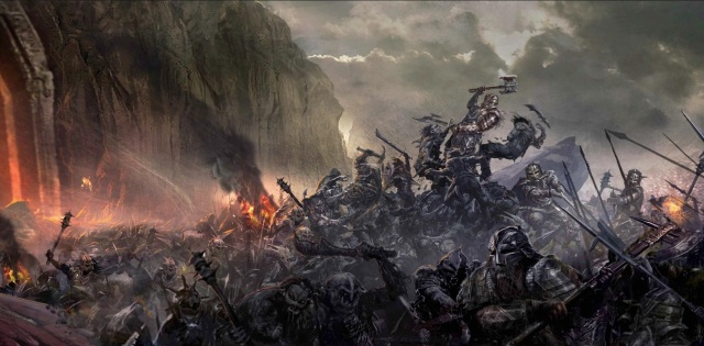 The Battle of Azanulbizar