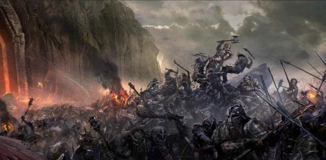 The Battle of Azanulbizar