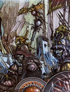 Battle of the Hornburg by Ian Miller