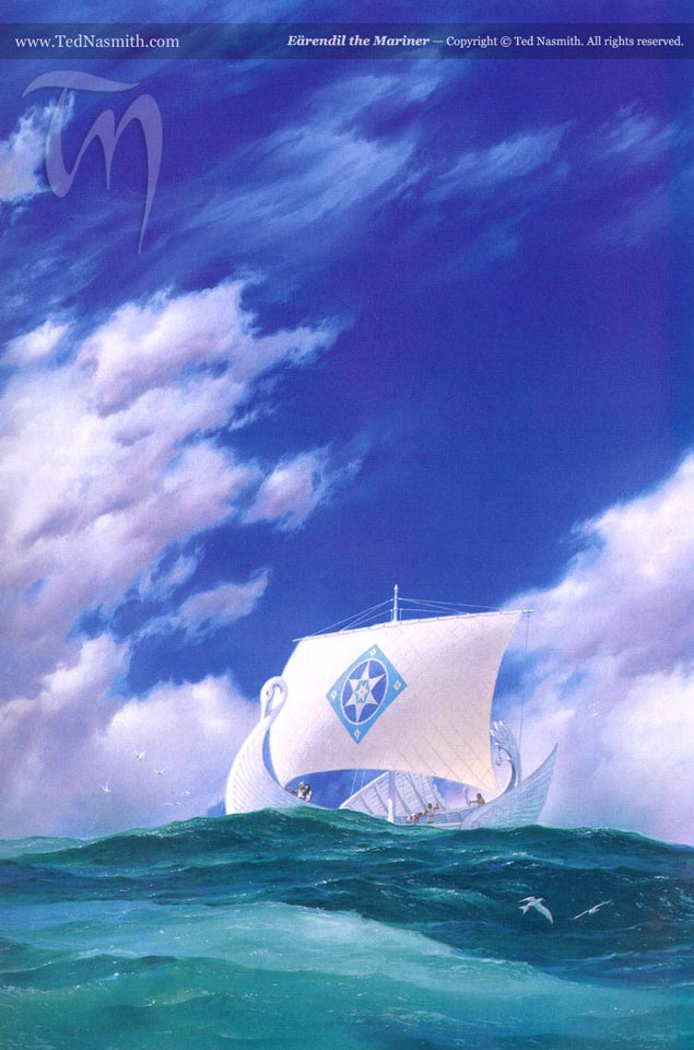 Eärendil the Mariner, by Ted Nasmith
