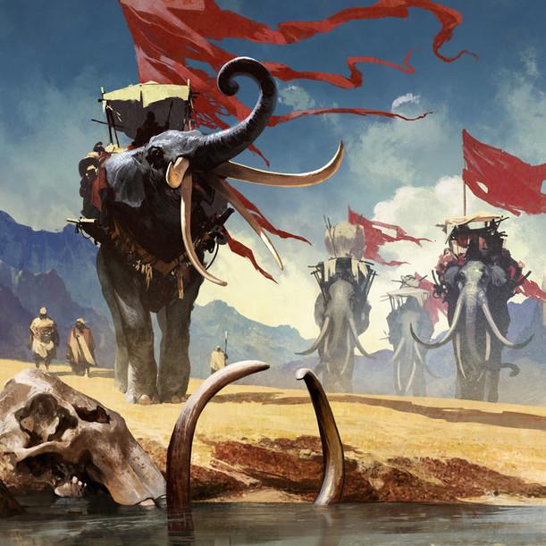 Description des lieux et monstres présents Harad-feature-art