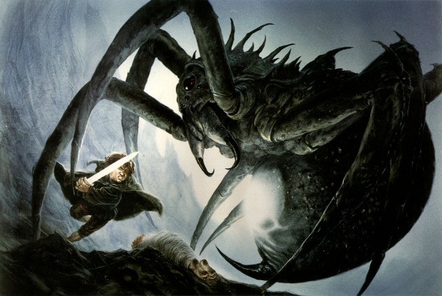 john-howe-sam-and-shelob
